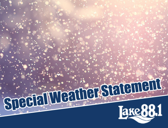 Special Weather Statement – Snow and possible freezing rain on the way