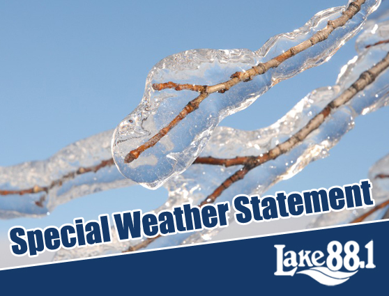 Special Weather Statement in effect – Freezing rain possible for Saturday