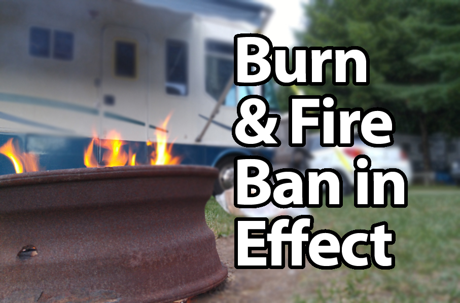 Open air burn bans in several parts of Lanark County