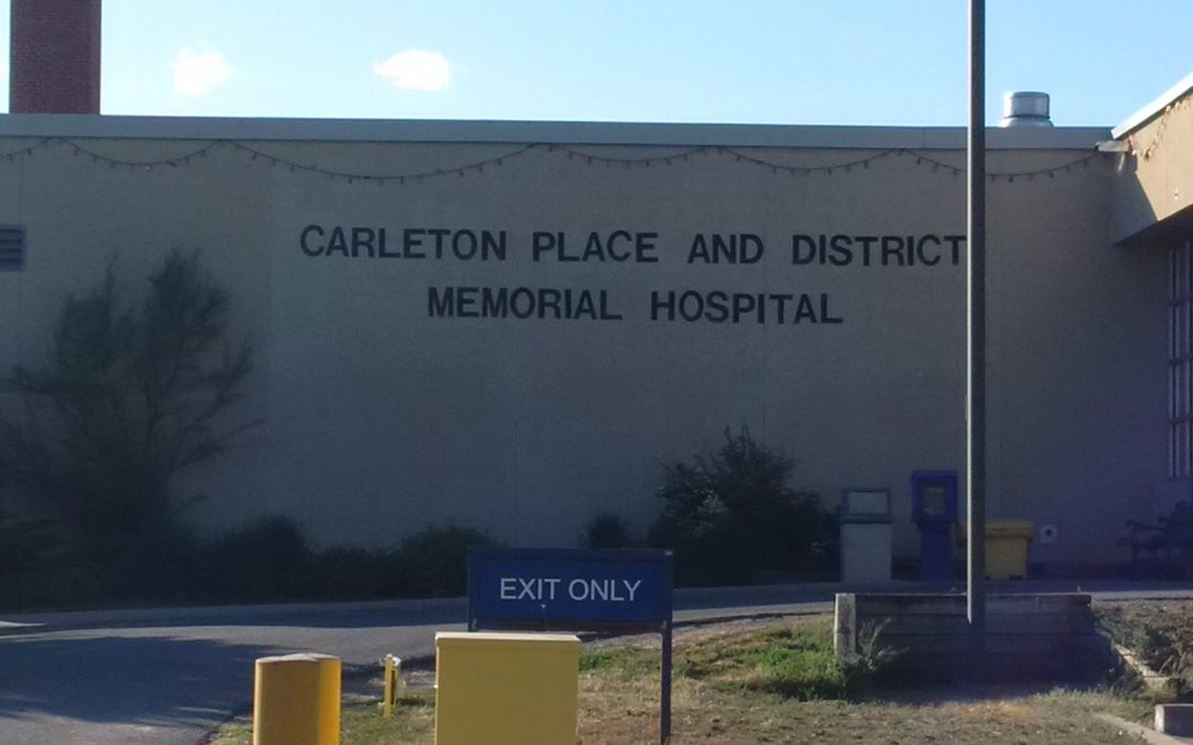 Local hospitals provide update for Carleton Place council