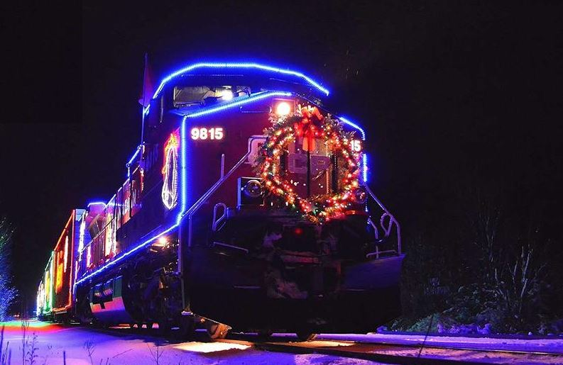 CP Holiday Train rolls into our listening area today