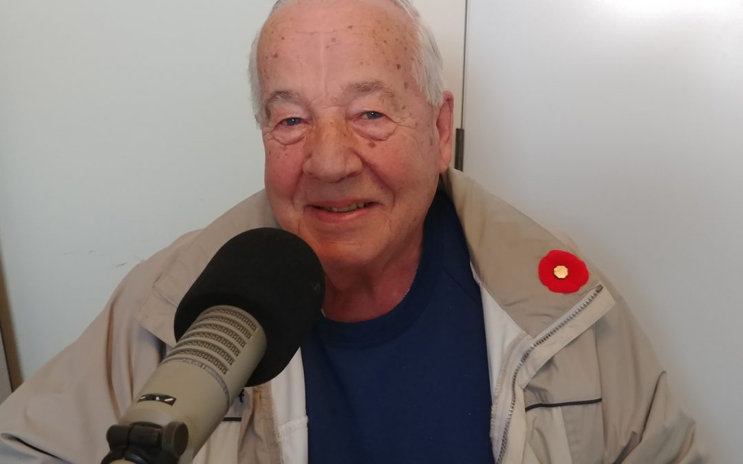 In Focus – Monday Nov 11, 2019 – Barry Boyce, Past-President of the Royal Canadian Legion in Perth and veteran of the Canadian Army