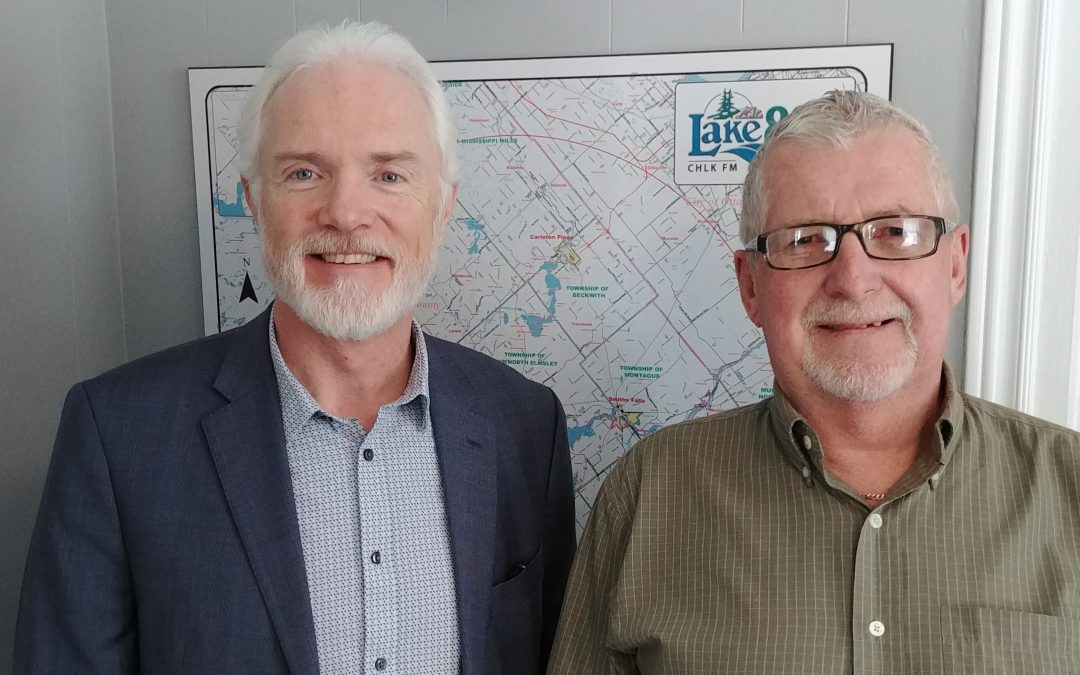 In Focus – Thurs Feb 6, 2020 – Lanark County Warden and Tay Valley Reeve Brian Campbell and Smiths Falls Mayor Shawn Pankow