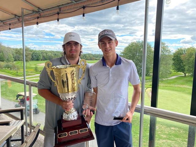Perth's Will Bellamy and Johnathan Rivington repeat as champs at the Ottawa Sun Scramble – junior division
