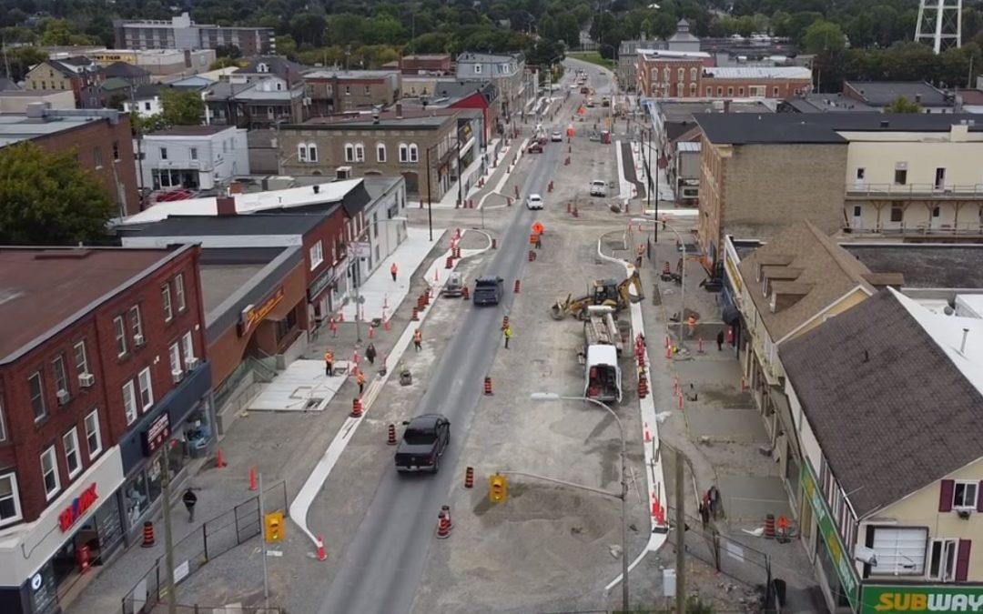 Smiths Falls Council get update on Beckwith St. construction – all on schedule