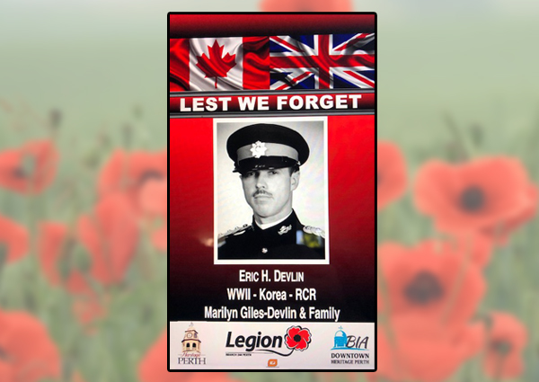 In Focus – Tues Sept 22, 2020 – Veteran Banners Perth Legion