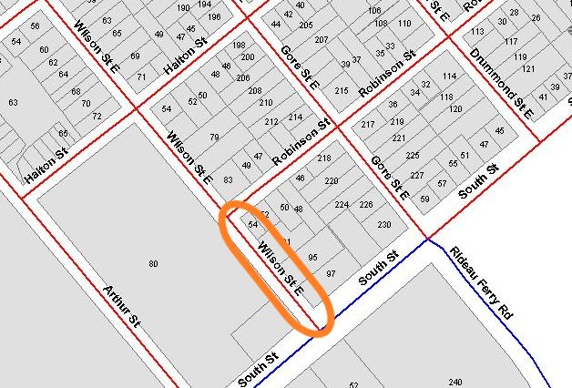 Stretch of Wilson St. E closed starting today – reopening scheduled for Friday